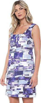 Ana Hickmann Vestido Ana Hickmann Curto Inglaterra Azul