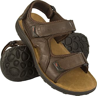 Zerimar Mens Sandals | Mens Trekking Sandals | Sandals Man Hiking | Mens Leather Sandals | Men Summer Sandals Brown