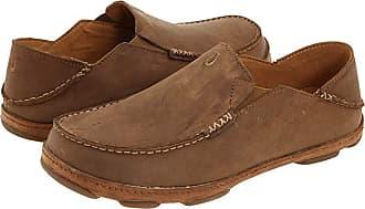 Olukai Moloa (Ray/Toffee) Mens Slip on Shoes