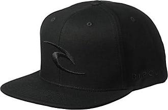Rip Curl Mens Tepan Snapback Hat, Black, 1SZ