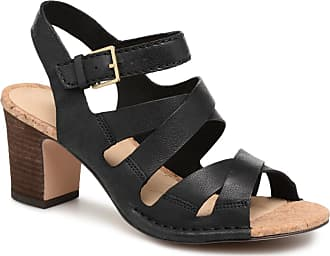 e3d8308cb515e Clarks Spiced Ava - Sandalen für Damen   schwarz