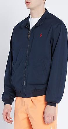 324a2a6e59e8a Ralph Lauren Blouson col montant boutonné en coton