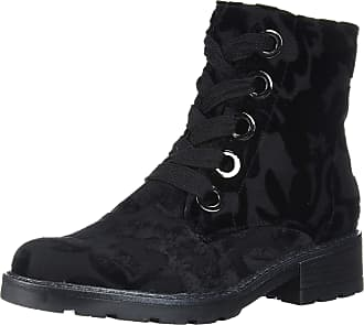 Ara Womens Daphne Fashion Boot, Black Fiore-samtchevro, 10.5