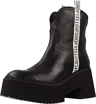Yellow Women Womens Boots Mini Tijuana Festival Black 2.5 UK