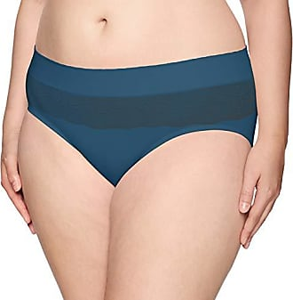 Warner's Womens Plus Size Cloud 9 Seamless Hipster Panty, Intuition, M