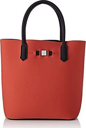 dba1f56e Save My Bag Mujer bolso cubo Rojo Size: 32x33x19 cm (W x H x