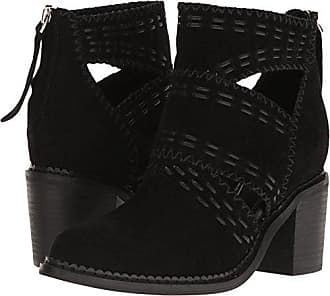 Sbicca Womens Jossly Ankle Bootie, Black, 7 B US