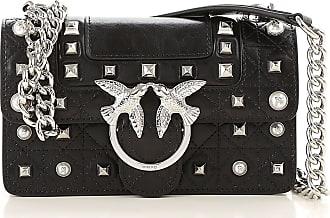 Pinko Handbags On Sale, Black, Leather, 2017, one size