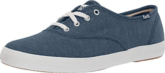 Keds Womens Champion Solids Sneakers Blue in Size UK 5 M