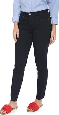 Banana Republic Calça Jeans Banana Republic Skinny Cropped Mid-Rise Ankle Azul-marinho