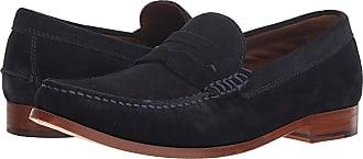 fd030e70144 Trask Sadler (Navy English Suede) Mens Slip on Shoes