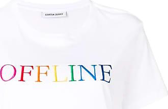 Quantum Courage Camiseta Offline - Branco