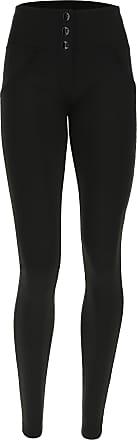 Freddy Womens black Lurex WR.UP skinny trousers