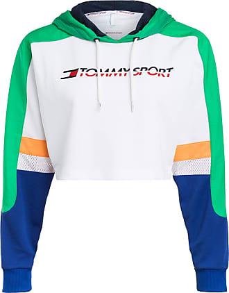 tommy hilfiger cropped sweatshirt weiss
