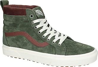 Vans Sk8-Hi MTE Shoes deep lichen green / rt br