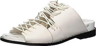 Kelsi Dagger Womens Olympia Flat Sandal, Vanilla, 10 M US