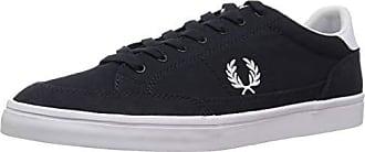 Fred Perry Mens Deuce Canvas Sneaker Navy 6 D UK (7 US)