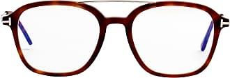 Tom Ford Eyewear Óculos de Sol Quadrado 5610B Estampado Marrom - Homem - 53 US