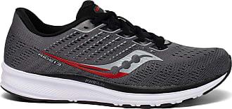 Saucony Mens Ride 13 Trail Running Shoe, Charcoal Black, 10.5 UK