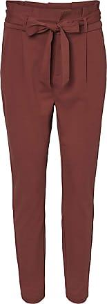 Vero Moda Womens Vmeva Hr Loose Paperbag Pant Noos Shorts, Sable, L/30