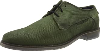 Bugatti Mens 312646101400 Derbys, Green (Green 7000), 7.5 UK