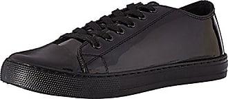 Qupid Womens Narnia-07 Fashion Sneaker Black 9 M US