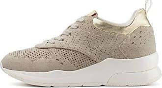 Liu Jo Liu Jo Karlie 14 - Womens Shoelaces, BA0007PX056, Trainers Beige Size: 8.5 UK