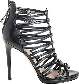 Guess sandalo tacco, 35 / nero