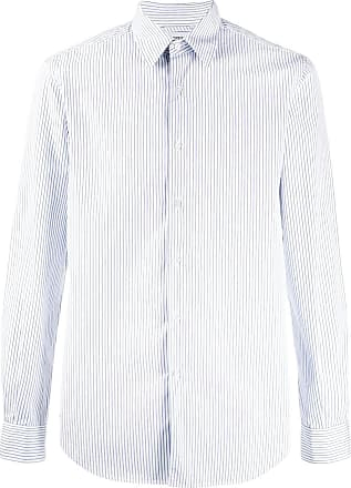 Aspesi pinstripe button-up shirt - Branco