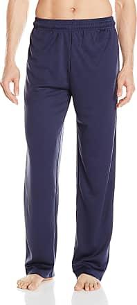 Majestic International Mens Check Mates 2pc S//S Top and Pant Set Pajama Set