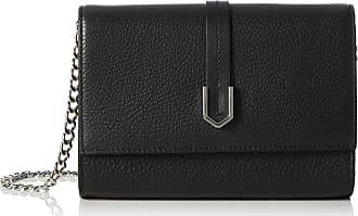 HUGO BOSS Womens Nidia-r 10195833 01 Clutch Bag, Black, 18x13x4.5 cm (wxhxd)