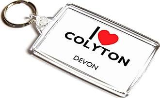 ILoveGifts KEYRING - I Love Colyton - Devon