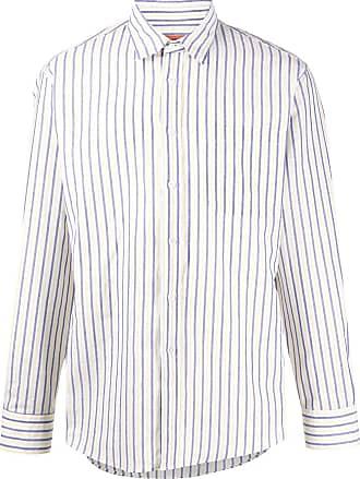 Missoni Camisa com listras e botões - Branco