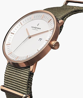 Nordgreen Philosopher - Rose Gold | Nylon Bohème - 40mm / Rose Gold