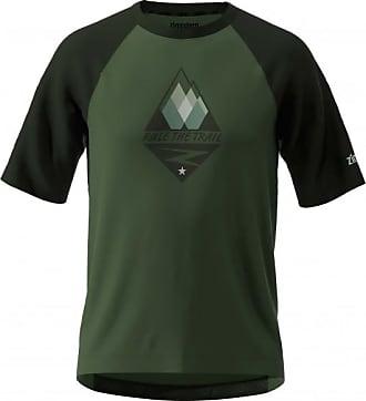 Zimtstern Pureflowz Shirt S/S Maglietta da ciclismo Uomo   nero/olivia
