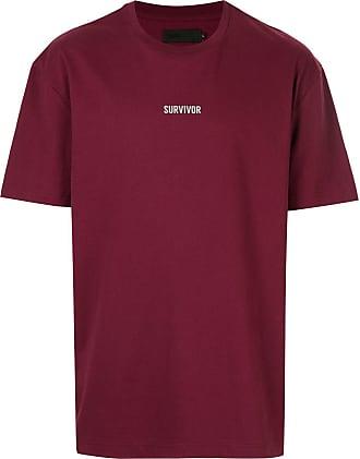 Off Duty Camiseta com estampa Survivor - Vermelho