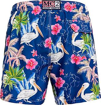 MC2 Saint Barth aves print gustavia swim shorts