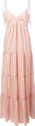 Lemlem Vestido longo Nefasi com recortes - Rosa