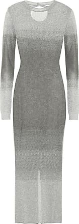 Paco Rabanne Lurex bodycon midi dress