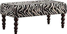 ACME 96626 Alysha Bench, Zebra Fabric
