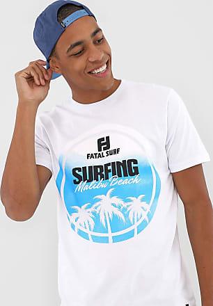 Fatal Surf Camiseta Fatal Surfing Branca