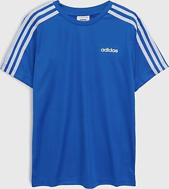adidas Performance Camiseta adidas Performance Infantil Stripes Azul
