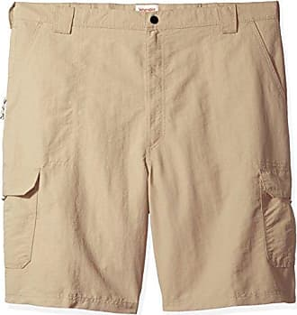 Wrangler Authentics Mens Big & Tall Performance Cargo Short, Desert Sand, 46