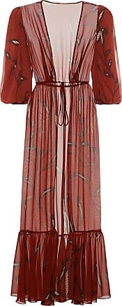 Johanna Ortiz Copper Morning Mist printed kaftan