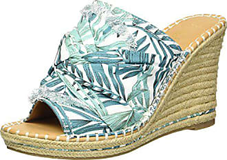 4fa4bd11e7ee5 SUGAR Womens Honora Slip-On Open Back Espadrille Wedge Sandal