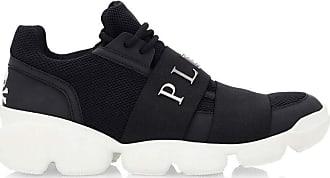 Philipp Plein Mens Low Top Sneakers Black Size 41 EU