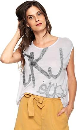 9794d4b704476 Calvin Klein Jeans Blusa Calvin Klein Jeans Ckj Branca