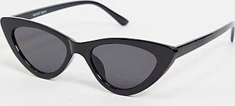 Noisy May Occhiali da sole cat-eye neri-Nero