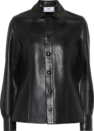 Ami Leather shirt