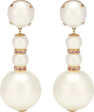 Dolce & Gabbana Orecchini a clip con perle bijoux